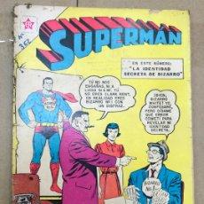 Tebeos: SUPERMAN Nº 362 NOVARO - LA IDENTIDAD SECRETA DE BIZARRO. Lote 182428206
