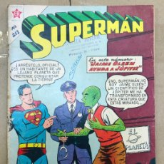 Tebeos: COMIC DE SUPERMAN. #213 1959. ED. NOVARO.JAIME OLSEN AYUDA A JÚPITER. Lote 182429010