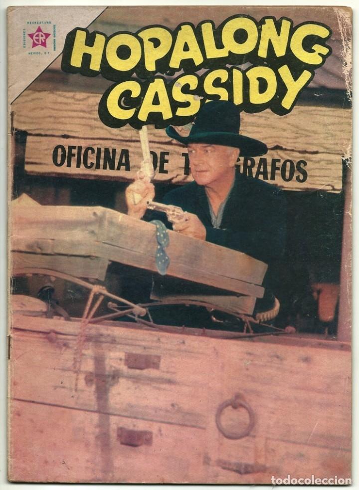 HOPALONG CASSIDY N° 100 TEBEO COMIC REVISTA WESTERN EDITORIAL NOVARO 1963 (Tebeos y Comics - Novaro - Hopalong Cassidy)