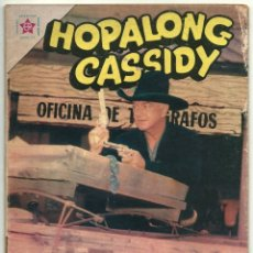 Tebeos: HOPALONG CASSIDY N° 100 TEBEO COMIC REVISTA WESTERN EDITORIAL NOVARO 1963. Lote 182431880