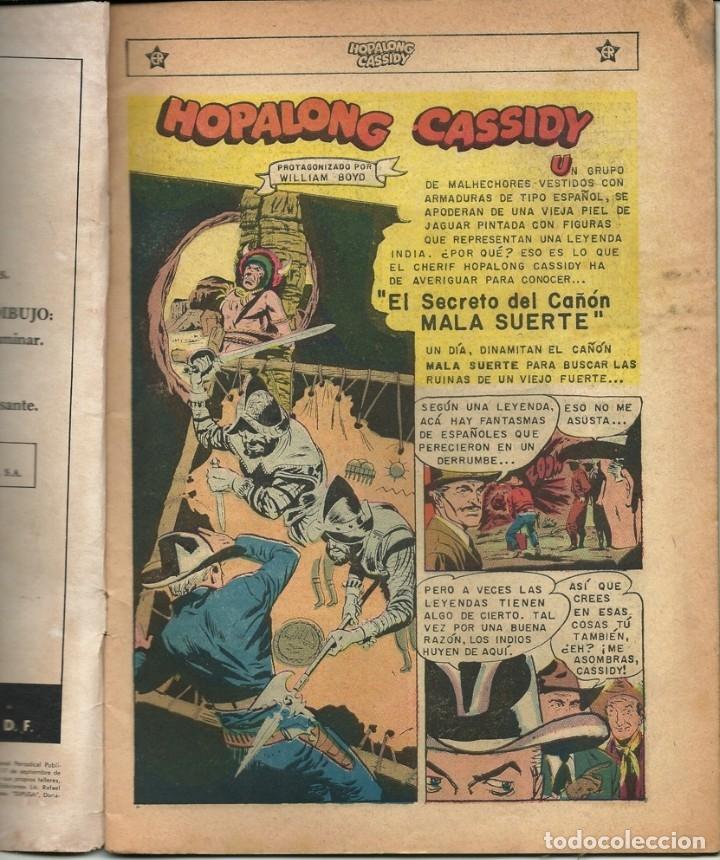 Tebeos: HOPALONG CASSIDY N° 100 TEBEO COMIC REVISTA WESTERN EDITORIAL NOVARO 1963 - Foto 2 - 182431880