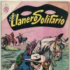 Tebeos: EL LLANERO SOLITARIO N° 132 TEBEO COMIC REVISTA WESTERN THE LONE RANGER EDITORIAL NOVARO 1964. Lote 182432083