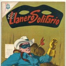 Tebeos: EL LLANERO SOLITARIO N° 143 TEBEO COMIC REVISTA WESTERN THE LONE RANGER EDITORIAL NOVARO 1965. Lote 182432175