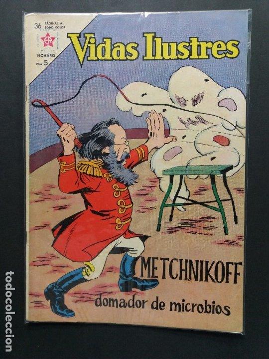 VIDAS ILUSTRES Nº 94 (Tebeos y Comics - Novaro - Vidas ilustres)