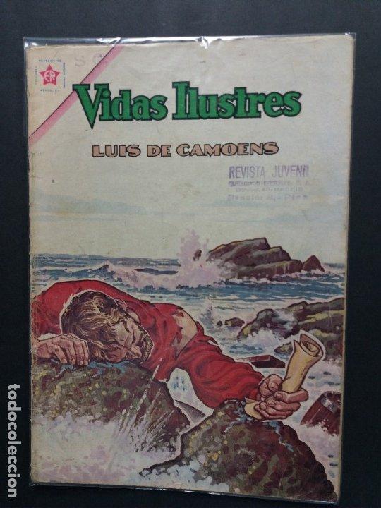 VIDAS ILUSTRES-Nº87 (Tebeos y Comics - Novaro - Vidas ilustres)