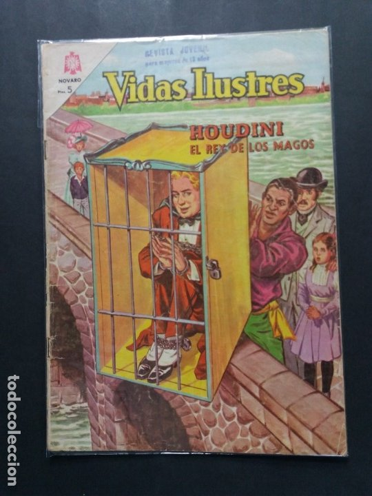 VIDAS ILUSTRES Nº 104 (Tebeos y Comics - Novaro - Vidas ilustres)