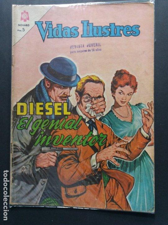 VIDAS ILUSTRES Nº 105 (Tebeos y Comics - Novaro - Vidas ilustres)