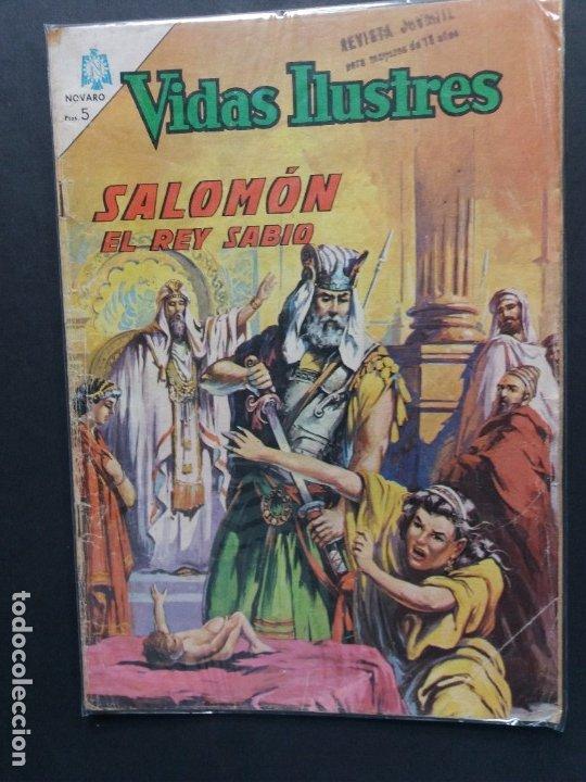 VIDAS ILUSTRES Nº 127 (Tebeos y Comics - Novaro - Vidas ilustres)