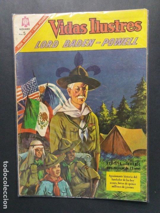 VIDAS ILUSTRES-Nº147 (Tebeos y Comics - Novaro - Vidas ilustres)