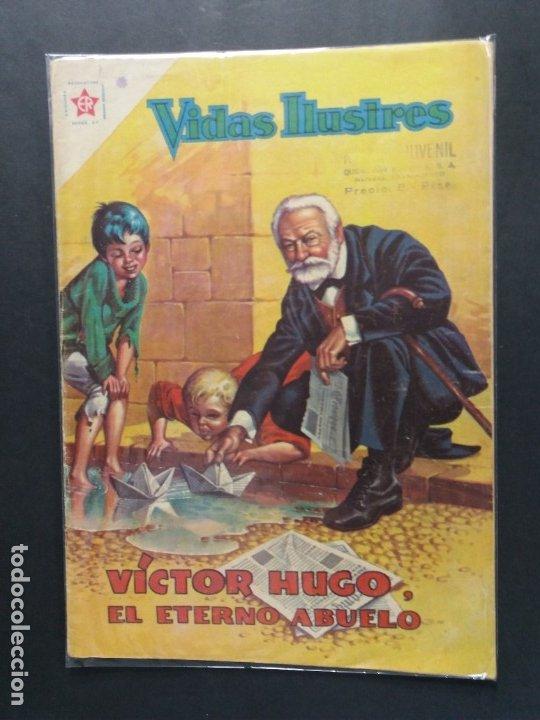 VIDAS ILUSTRES Nº 64 (Tebeos y Comics - Novaro - Vidas ilustres)