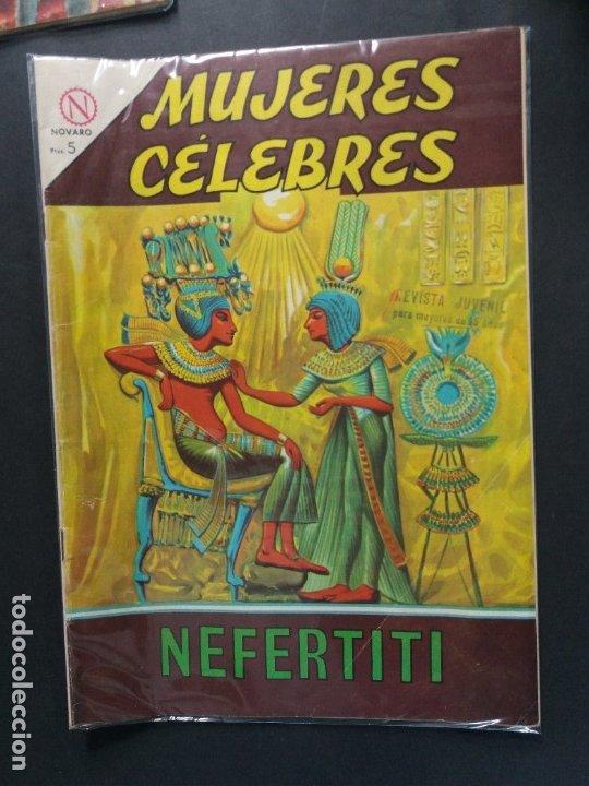MUJERES CELEBRES Nº 38 (Tebeos y Comics - Novaro - Otros)