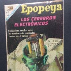 Tebeos: EPOPEYA Nº 136. Lote 182626187