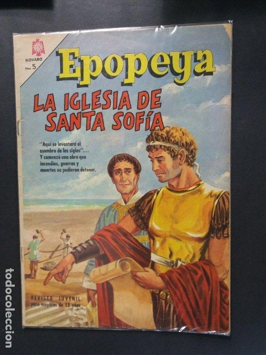 EPOPEYA Nº 99 (Tebeos y Comics - Novaro - Epopeya)
