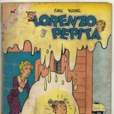 Tebeos: LORENZO Y PEPITA N° 114 TEBEO ANTIGUO COMIC REVISTA EDITORIAL NOVARO 1958. Lote 182639282