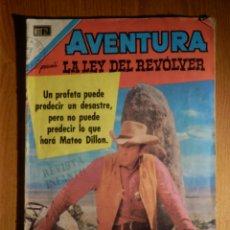Tebeos: COMIC - AVENTURA - LA LEY DEL REVOLVER - Nº 693 - EL PROFETA - NOVARO. Lote 182647997