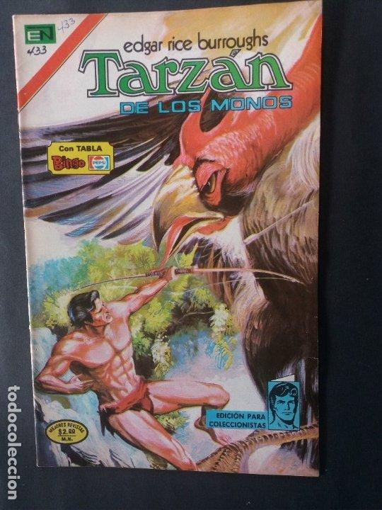 TARZAN-Nº433 (Tebeos y Comics - Novaro - Tarzán)