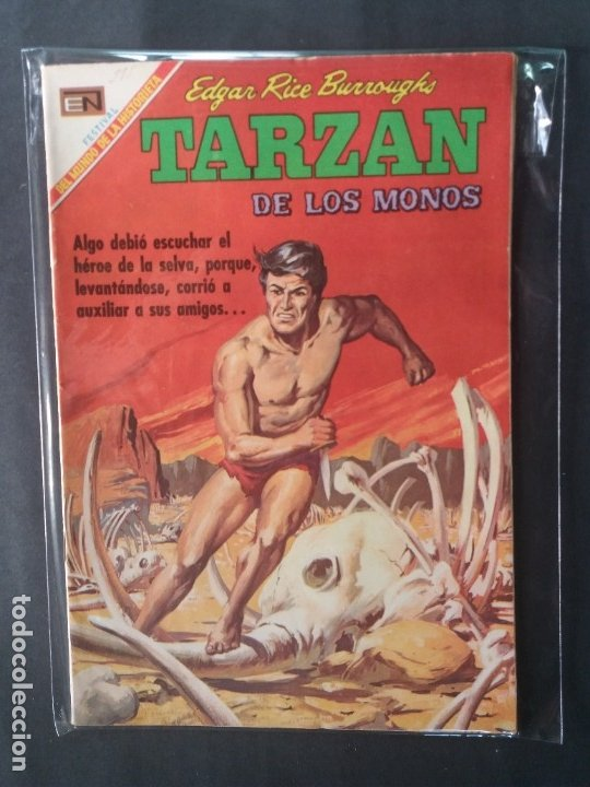 TARZAN-Nº214 (Tebeos y Comics - Novaro - Tarzán)