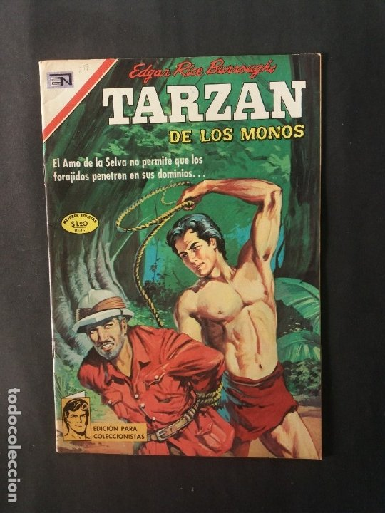 TARZAN-Nº237 (Tebeos y Comics - Novaro - Tarzán)