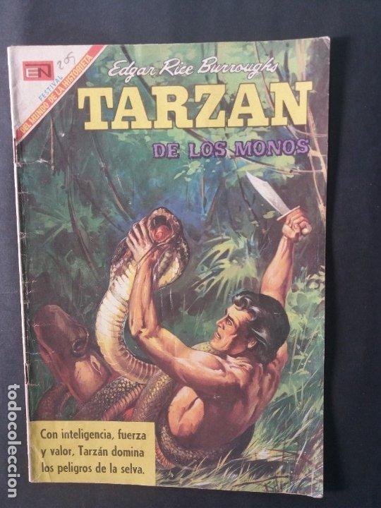 TARZAN-Nº209 (Tebeos y Comics - Novaro - Tarzán)