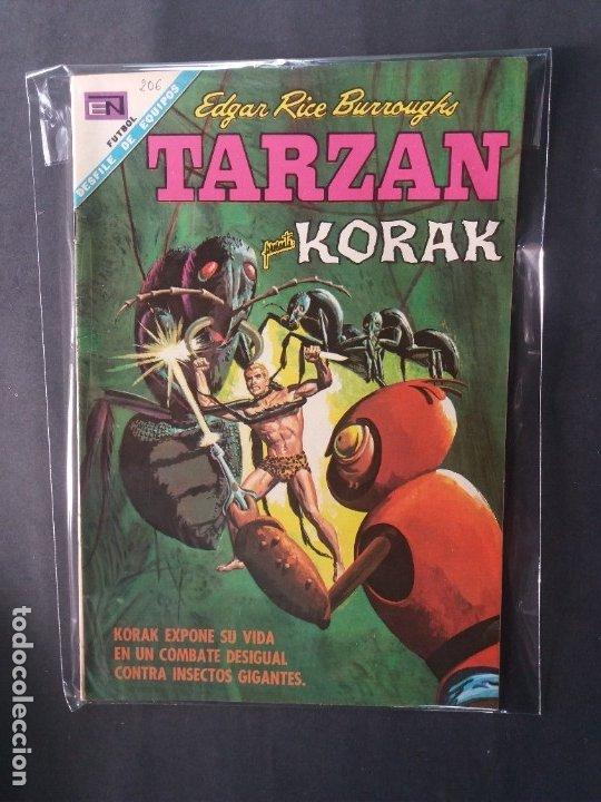 TARZAN-Nº206 (Tebeos y Comics - Novaro - Tarzán)
