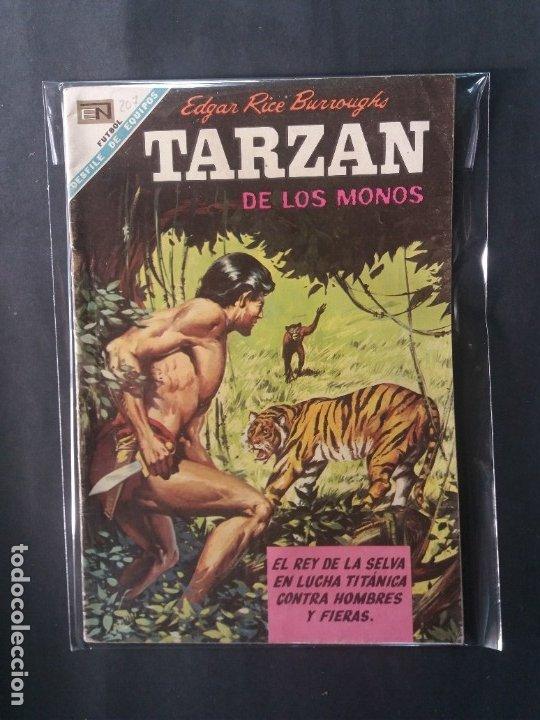TARZAN-Nº207 (Tebeos y Comics - Novaro - Tarzán)