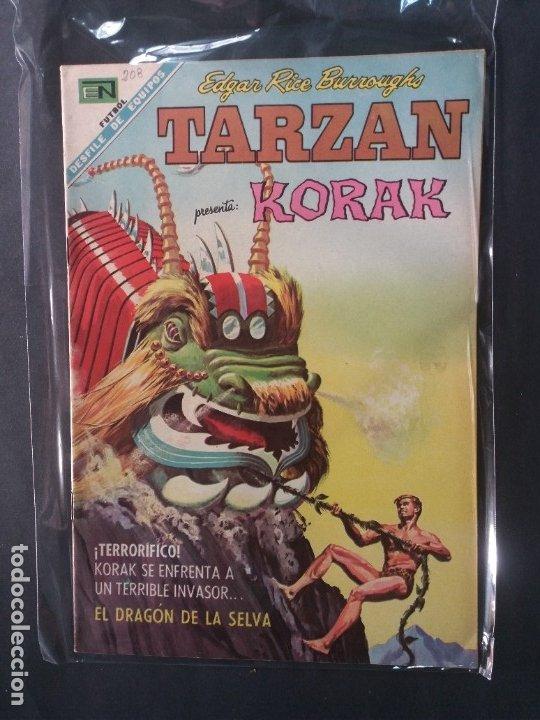 TARZAN-Nº208 (Tebeos y Comics - Novaro - Tarzán)