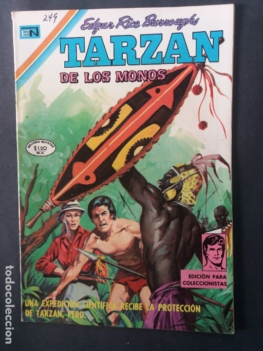 TARZAN-Nº249 (Tebeos y Comics - Novaro - Tarzán)