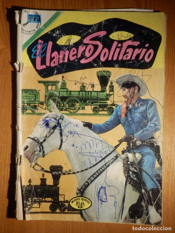 EL LLANERO SOLITARIO - AÑO XXI - Nº 255 - 11 DE ENERO DE 1972 - NOVARO (Tebeos y Comics - Novaro - El Llanero Solitario)