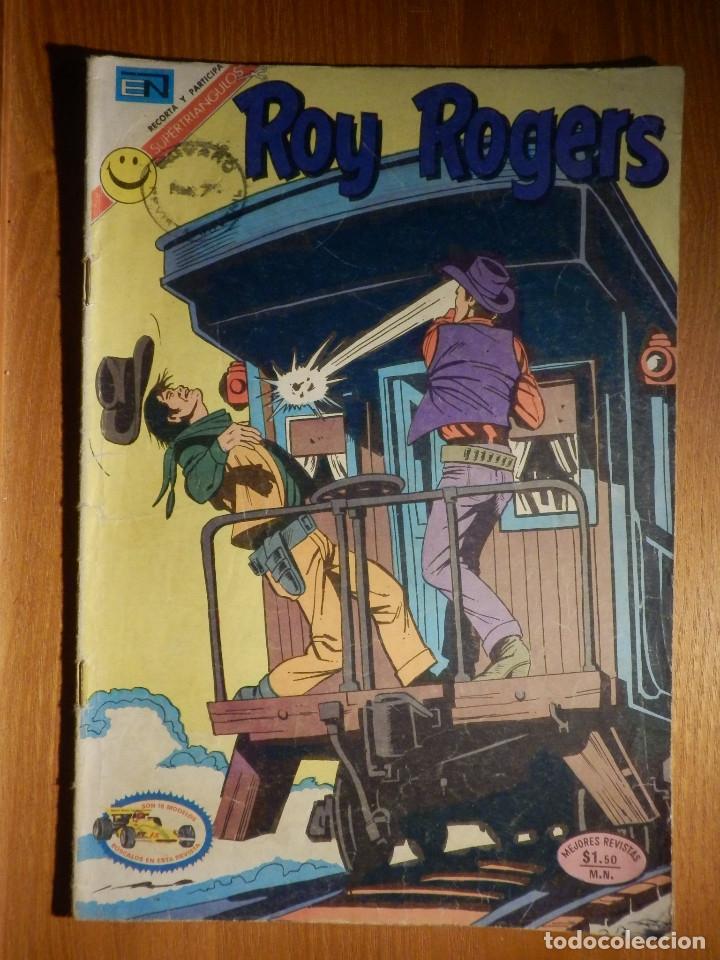 COMIC - ROY ROGERS - AÑO XX - Nº 266 - LA GRAN CACERÍA - NOVARO (Tebeos y Comics - Novaro - Roy Roger)