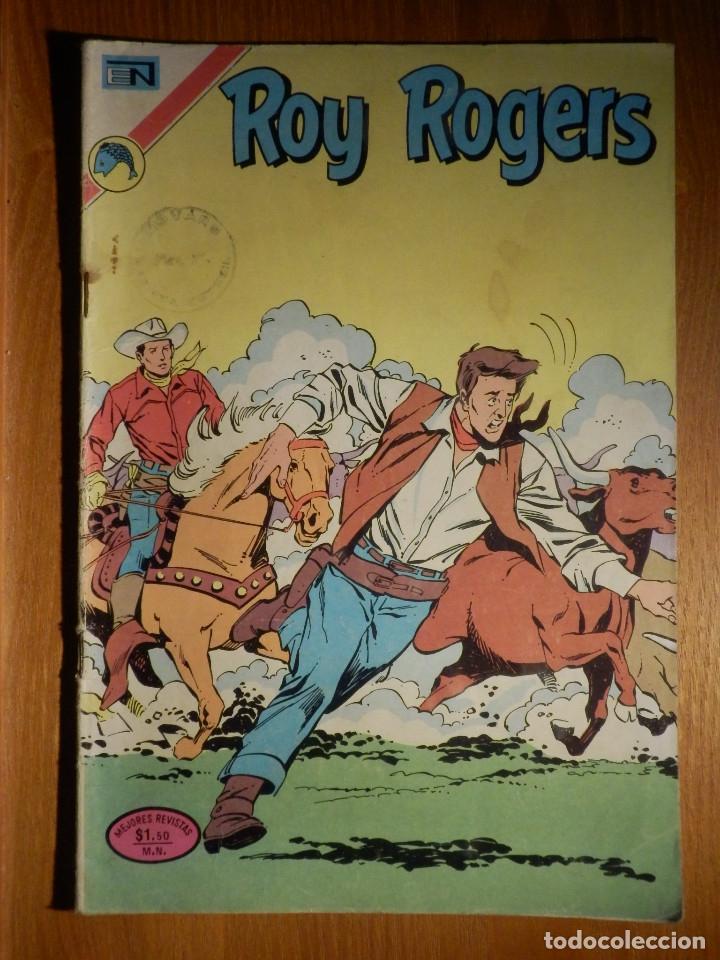 COMIC - ROY ROGERS - AÑO XXI - Nº 282 - LA TRAMPA MORTAL - NOVARO (Tebeos y Comics - Novaro - Roy Roger)