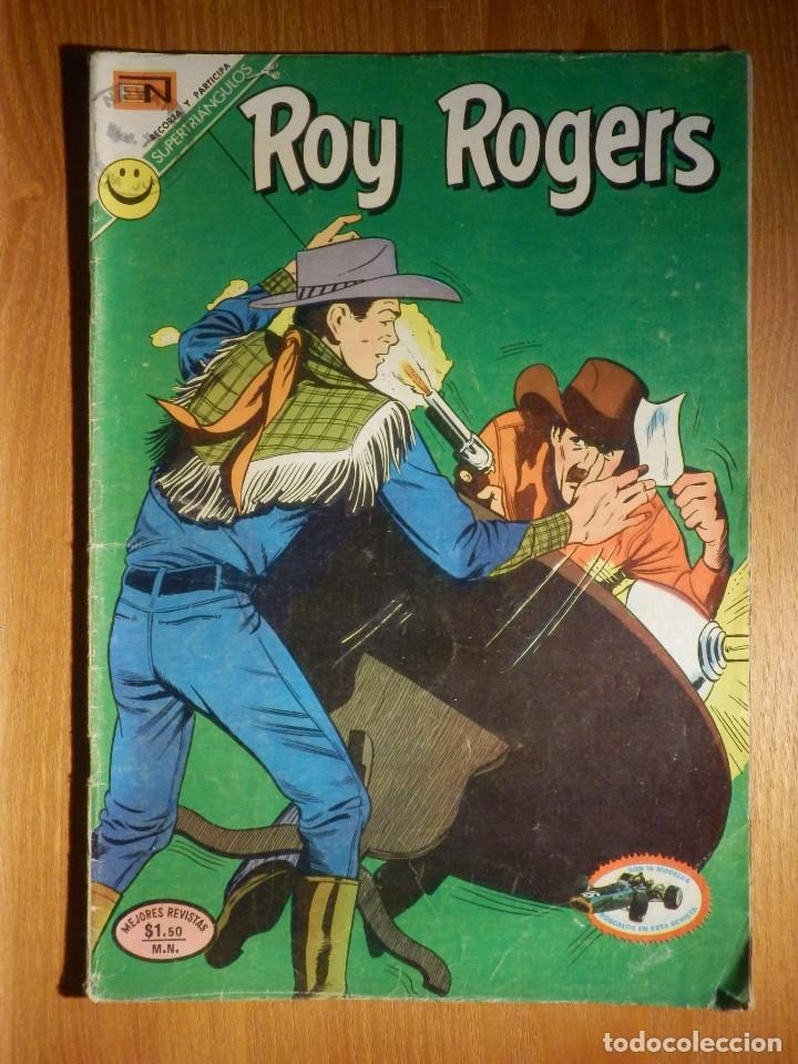 COMIC - ROY ROGERS - AÑO XX - Nº 274 - BALAS EN LA PRADERA - NOVARO (Tebeos y Comics - Novaro - Roy Roger)