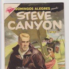 Tebeos: STEVE CANYON COLECCION COMPLETA EN DOMINGOS ALEGRES. Lote 182746155