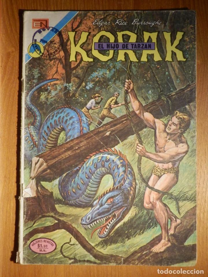 COMIC - KORAK - EL HIJO DE TARZÁN - AÑO I Nº 10 - 26 DE MARZO DE 1973 (Tebeos y Comics - Novaro - Tarzán)