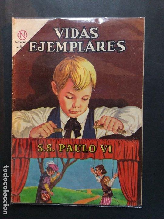 VIDAS EJEMPLARES 170 S.S. PAULO VI MUY BUEN ESTADO (Tebeos y Comics - Novaro - Vidas ejemplares)