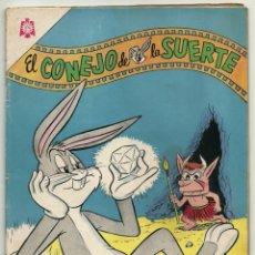 Tebeos: EL CONEJO DE LA SUERTE N° 213 TEBEO COMIC REVISTA EDITORIAL NOVARO 1965. Lote 182978636