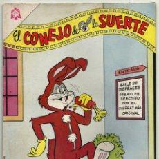Tebeos: EL CONEJO DE LA SUERTE N° 218 TEBEO COMIC REVISTA EDITORIAL NOVARO 1965. Lote 182978651