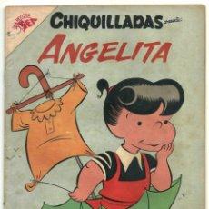 Tebeos: CHIQUILLADAS N° 72 ANGELITA TEBEO COMIC REVISTA EDITORIAL NOVARO 1958. Lote 182978781