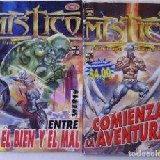Tebeos: LOTE DE 18 COMICS DE MÍSTICO,LUCHADOR MEXICANO - EDITORIAL TOUKAN MEXICO. Lote 183214580