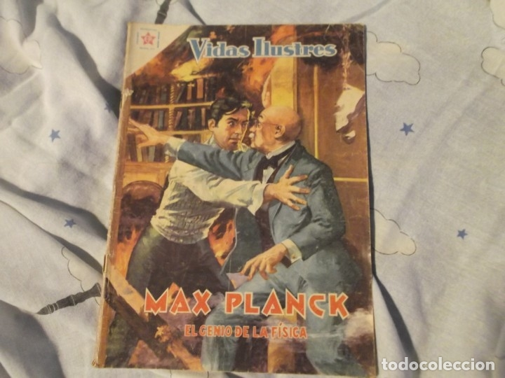 NOVARO.EDICIONES RECREATIVAS .MAX PLANCK 1959 (Tebeos y Comics - Novaro - Vidas ilustres)