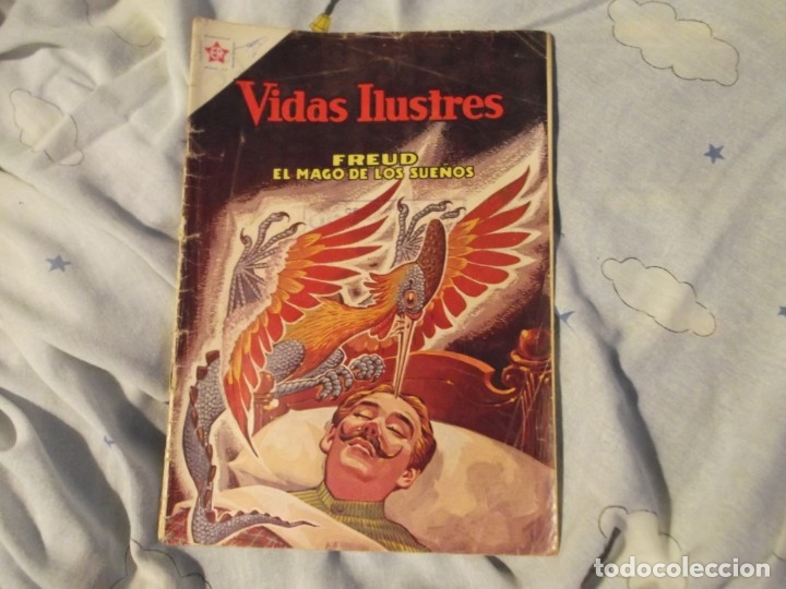 NOVARO.EDICIONES RECREATIVAS .FREUD EL MAGO DE LOS SUEÑOS 1963 (Tebeos y Comics - Novaro - Vidas ilustres)