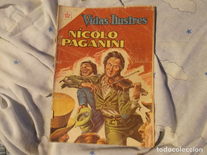 NOVARO.EDICIONES RECREATIVAS .NICOLO PAGANINI1962 (Tebeos y Comics - Novaro - Vidas ilustres)
