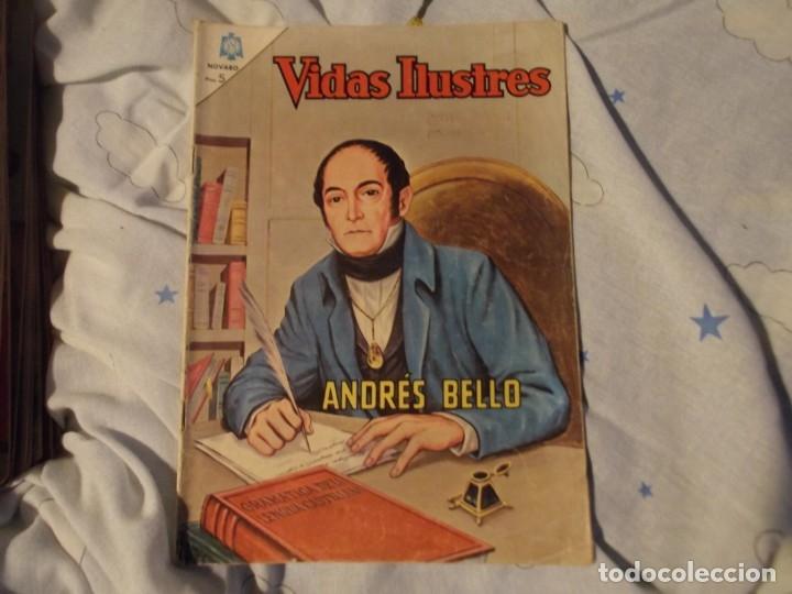 NOVARO..ANDRES BELLO 1965 (Tebeos y Comics - Novaro - Vidas ilustres)