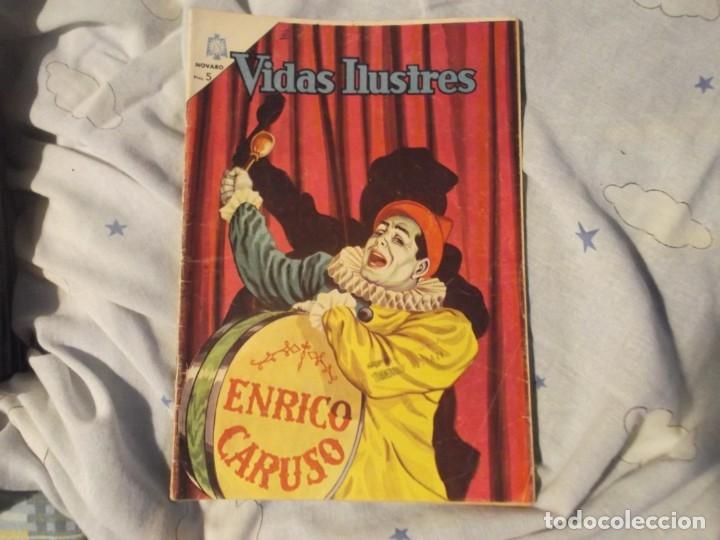 NOVARO..ENRIQUE CARUSO 1965 (Tebeos y Comics - Novaro - Vidas ilustres)