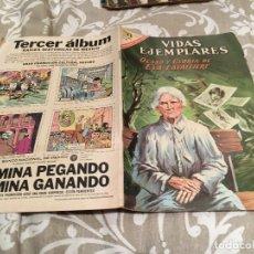 Tebeos: VIDAS EJEMPLARES-Nº 252-OCASO Y GLORIA DE EVA LAVALLIERE-NOVARO 1967. Lote 183299082
