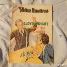 Tebeos: NOVARO..LLOYD WRIGHT ARQUITECTO DEL FUTURO 1965. Lote 183299151