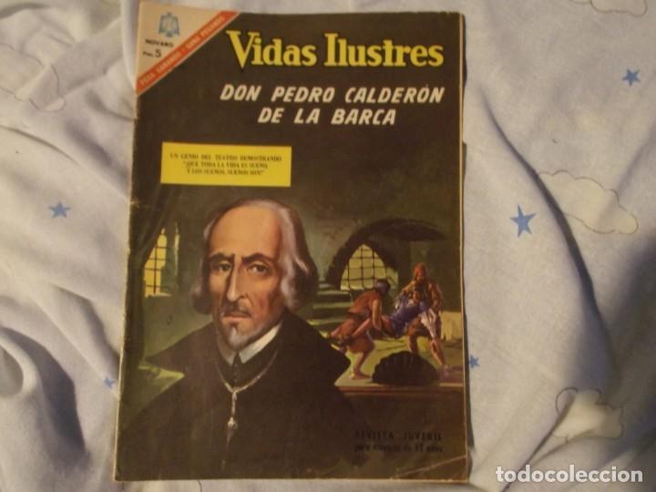 NOVARO..PEDRO CALDERON DE LA BARCA 1966 (Tebeos y Comics - Novaro - Vidas ilustres)