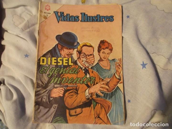 NOVARO..DIESEL EL GENIAL INVENTOR 1964 (Tebeos y Comics - Novaro - Vidas ilustres)