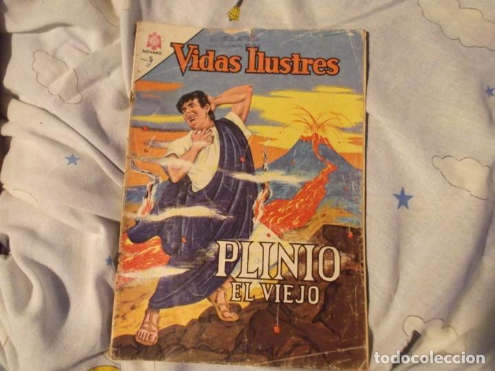 NOVARO..PLIONEO EL VIEJO 1964 (Tebeos y Comics - Novaro - Vidas ilustres)