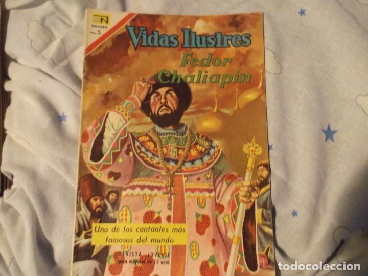 NOVARO FEDOR CHALIAPIN 1967 (Tebeos y Comics - Novaro - Vidas ilustres)