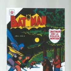 Tebeos: BATMAN 6, 1954, NOVARO, FOTOCOPIAS, MUY BUEN ESTADO. Lote 183366502